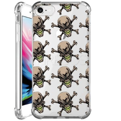 Capa Anti Shock Personalizada - SKULL ROCK