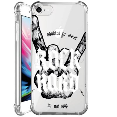 Capa Anti Shock Personalizada - ROCK HARD