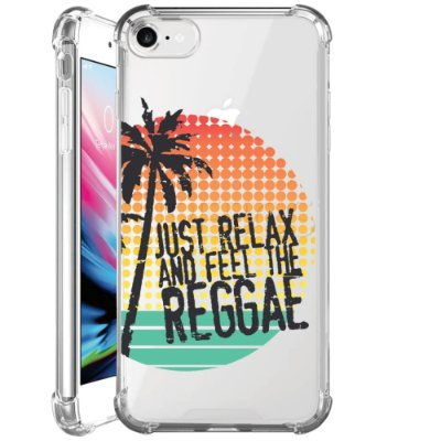 Capa Anti Shock Personalizada - FEEL THE REGGAE