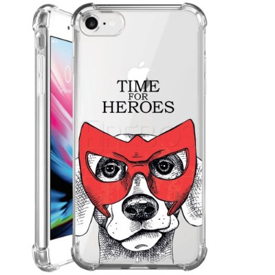 Capa Anti Shock Personalizada - TIME FOR HEROES
