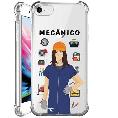Capa Anti Shock Personalizada - MECÂNICO FEM