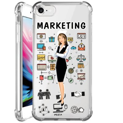 Capa Anti Shock Personalizada - MARKETING FEM
