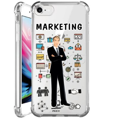 Capa Anti Shock Personalizada - MARKETING MASC