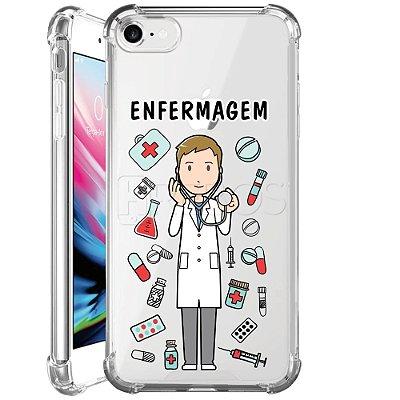 Capa Anti Shock Personalizada - ENFERMAGEM MASC