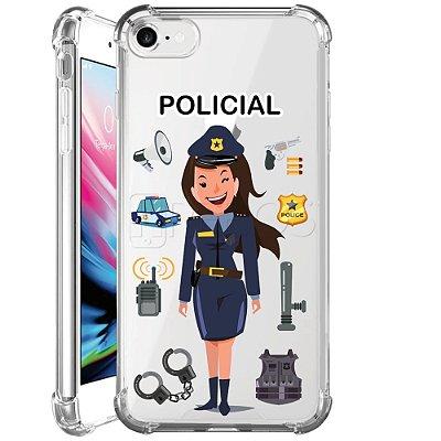 Capa Anti Shock Personalizada - POLICIAL
