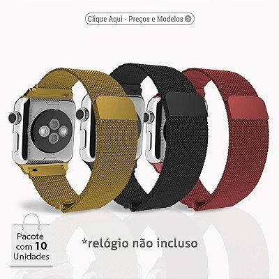 Pulseira Apple Watch - Aço Inoxidável (Cores Sortidas)