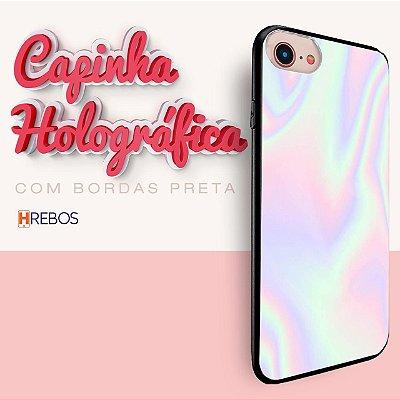 Capa Holográfica BORDA PRETA