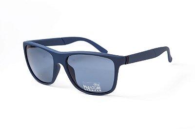 Óculos de Sol masculino azul fosco phantom radical linha surf sol som e mar