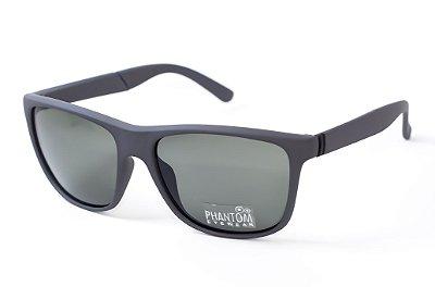 Óculos de Sol masculino Cinza grafite fosco phantom radical linha surf sol som e mar