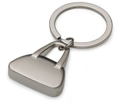 Chaveiro Metal Formato Bolsa Fosco