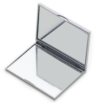 Espelho Duplo Sem Aumento com Verso Liso. Cód. 9810