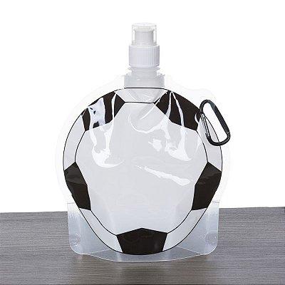 Squeeze Dobrável 750ml Fomarto Bola de Futebol. Cód. 12584