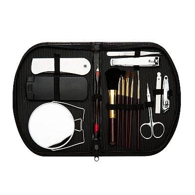 Kit Manicure com Acessórios de Maquiagem 15 Peças. Cód. 127