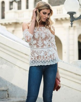BLUSA LACE PASSION - AVE RARA