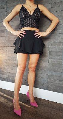 Shorts Saia e Cropped - Pistis