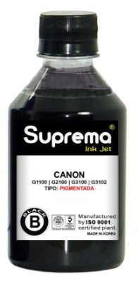 Tinta Canon Impressora G1100 G2100 G3100 G3102 G4100 - Black Pigmentada