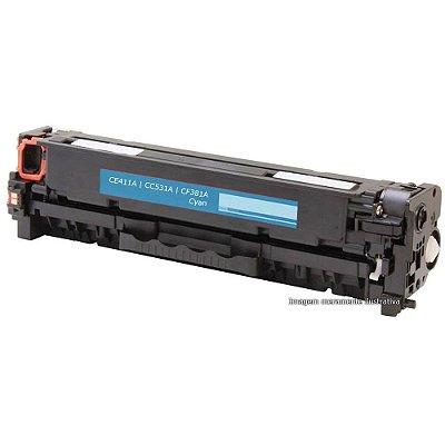 Toner HP CM2320 | CP2025 | M375 | M475 | M451 | M471 - CF38A, CE411A, CC531A - Cyan
