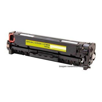 Toner HP CM2320 | CP2025 | M375 | M475 | M451 | M471 - CF383A, CE413A, CC533A - Amarelo