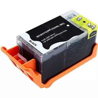 Cartucho de Tinta HP 920XL Black - 6000 | 6500 | 7500 | Compatível - Extra Rendimento