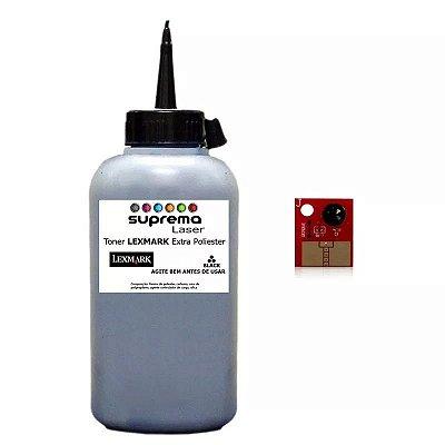 Refil de Toner + Chip 2k Lexmark E120 | E 120 | E120n