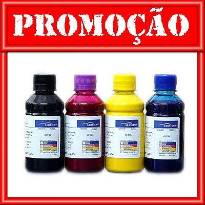 Kit 4 Refil de Tinta HP Cartuchos 970 | 971 - PRO X-451DW X-476DW - Pigmentada Sensient