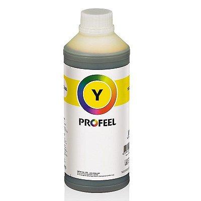 Tinta Profeel Corante HP Yellow - 1 Litro Lacrado