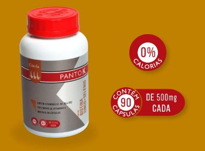 Panto K: Biotina + Zinco + Selênio