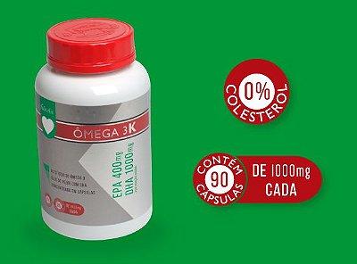 Ômega 3K: EPA + DHA Super Concentrado