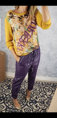 Blusa manga longa Burberry