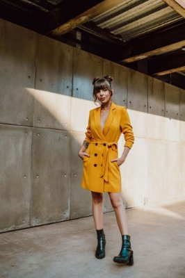 Vestido Blazer Giovanna Ferrarezi