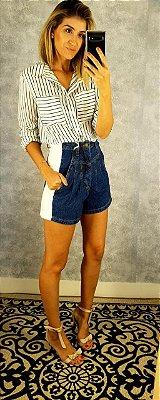 Short bicolor jeans hs iv