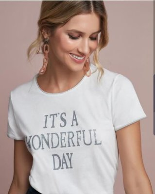 T shirt it's a wonderful day