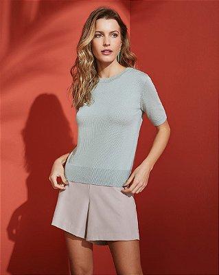 Blusa tricot modal