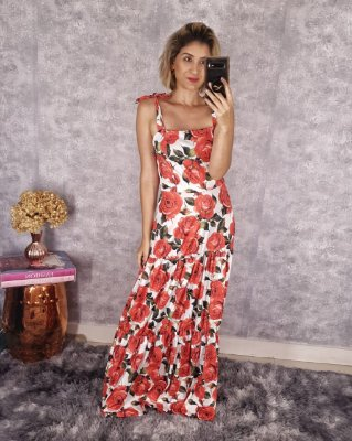 Vestido Flor Lelis
