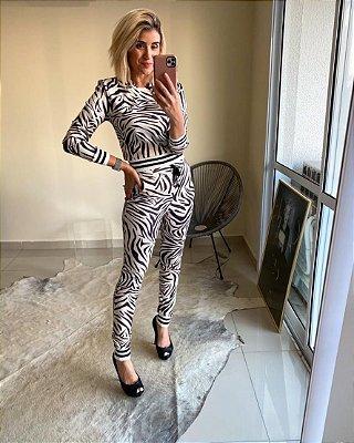 Conjunto neoprene zebra