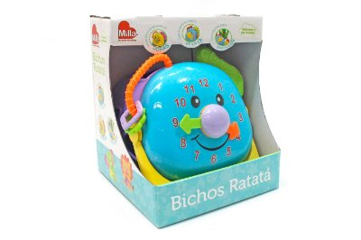 Bichos Ratatá Relóginho - Milla Baby