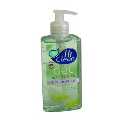 Hi Clean - Gel Antisséptico para as mãos - Extrato de Frutas Cítricas - 250ml