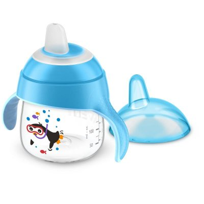 Copo Pinguim Azul - 200ml - Philips Avent