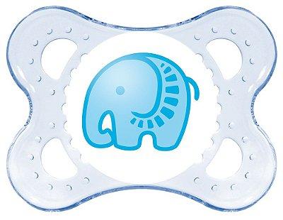 Chupeta Mam Clear - Azul (BOYS 0-6 MESES) - MAM-2431A