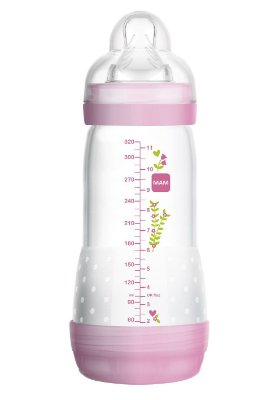 Mamadeira Easy Start - First Bottle - 320 ML (GIRLS) - MAM-4678