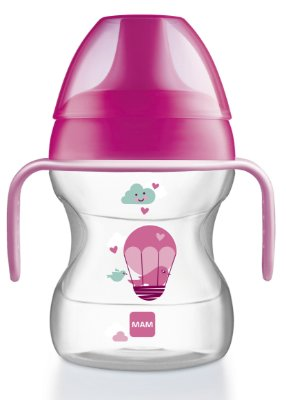 Learn to Drink MAM (COPO DE TREINAMENTO) - 190ML - GIRLS - MAM-4242