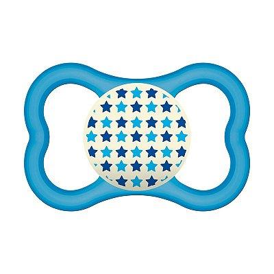 Chupeta MAM Air Night Azul - a partir de 6 meses (MAM-2827AZUL)