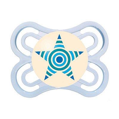 Chupeta MAM Perfect Night - de 0 a 6 Meses - Azul/Estrela (MAM-2497AE)