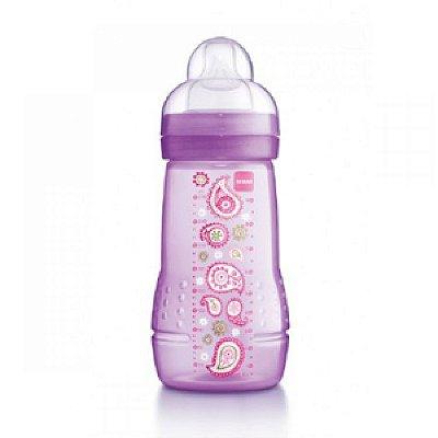 Mamadeira Easy Active - Fashion Bottle - 270ML - GIRLS - MAM-4838