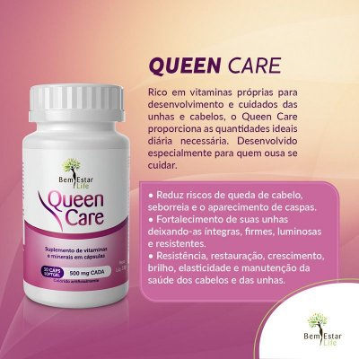 Queen Care - 30 cápsulas