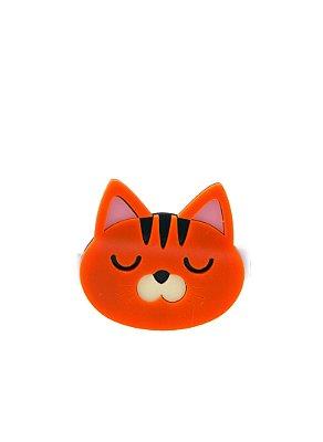 Clipe  gato laranja
