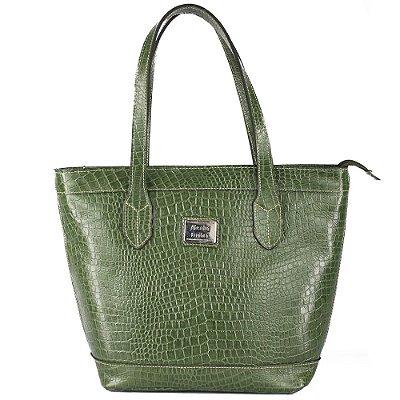 Bolsa de Couro Legítimo Adriana, Verde