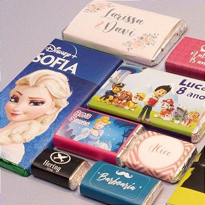 Barra de Chocolate com Cinta Personalizada