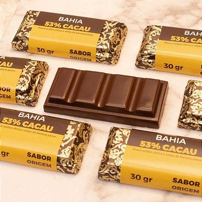 Tablete Origem Chocolate Bahia 53% Cacau - 30g