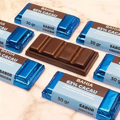 Tablete Origem Chocolate Bahia 63% Cacau - 30g